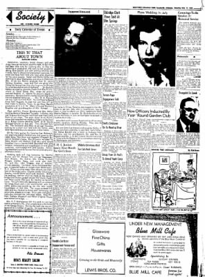 Northwest Arkansas Times from Fayetteville, Arkansas on May 31, 1952 · Page 3