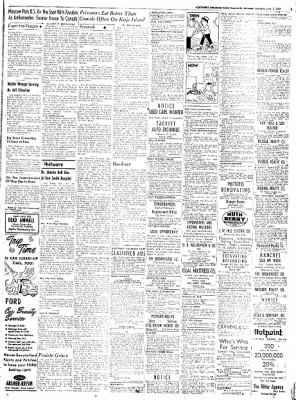 Northwest Arkansas Times from Fayetteville, Arkansas on June 7, 1952 · Page 9