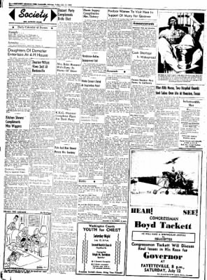 Northwest Arkansas Times from Fayetteville, Arkansas on July 11, 1952 · Page 2