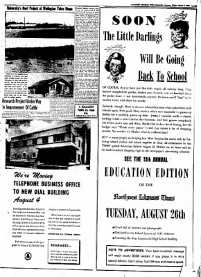 Northwest Arkansas Times from Fayetteville, Arkansas on August 1, 1952 · Page 3