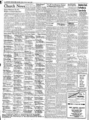 Northwest Arkansas Times from Fayetteville, Arkansas on August 2, 1952 · Page 2