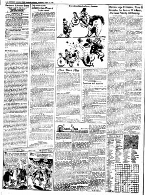 Northwest Arkansas Times from Fayetteville, Arkansas on August 13, 1952 · Page 4