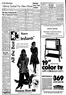 Northwest Arkansas Times from Fayetteville, Arkansas on October 23, 1974 · Page 3