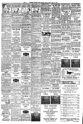 Northwest Arkansas Times From Fayetteville On October 25 1965 Page 18