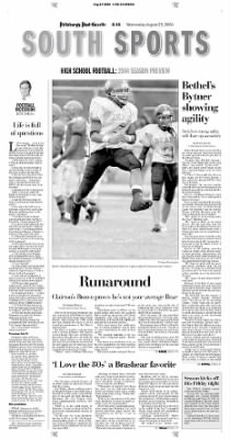 Pittsburgh Post-Gazette from Pittsburgh, Pennsylvania on August 25, 2004 · Page 126