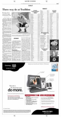 Pittsburgh Post-Gazette from Pittsburgh, Pennsylvania on August 27, 2004 · Page 31