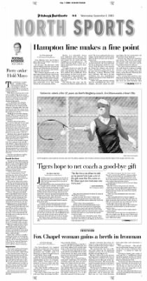 Pittsburgh Post-Gazette from Pittsburgh, Pennsylvania on September 1, 2004 · Page 98