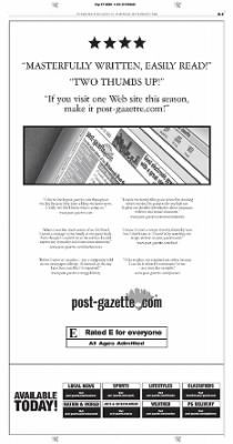Pittsburgh Post-Gazette from Pittsburgh, Pennsylvania on September 27, 2004 · Page 61