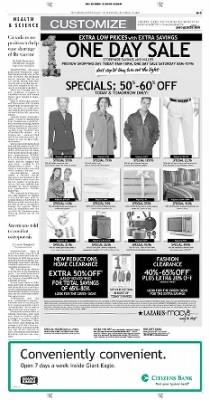 Pittsburgh Post-Gazette from Pittsburgh, Pennsylvania on October 15, 2004 · Page 3