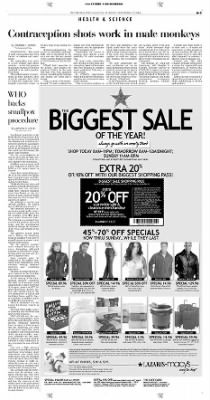 Pittsburgh Post-Gazette from Pittsburgh, Pennsylvania on November 12, 2004 · Page 3