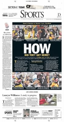 Pittsburgh Post-Gazette from Pittsburgh, Pennsylvania on November 14, 2004 · Page 25