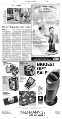 Pittsburgh Post-Gazette from Pittsburgh, Pennsylvania on November 18, 2004 · Page 17